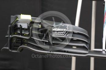 World © Octane Photographic Ltd. Formula 1 - Australian Grand Prix - Wednesday Setup. Williams Martini Racing FW40. Albert Park Circuit. Wednesday 22nd March 2017. Digital Ref: 1788LB1D7722