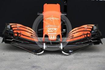 World © Octane Photographic Ltd. Formula 1 - Australian Grand Prix - Wednesday Setup. McLaren Honda MCL32. Albert Park Circuit. Wednesday 22nd March 2017. Digital Ref: 1788LB1D7735