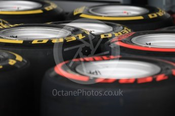 World © Octane Photographic Ltd. Formula 1 - Australian Grand Prix - Wednesday Setup. Tyres. Albert Park Circuit. Wednesday 22nd March 2017. Digital Ref: 1788LB1D7739