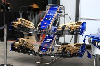 World © Octane Photographic Ltd. Formula 1 - Australian Grand Prix - Wednesday Setup. Sauber F1 Team C36. Albert Park Circuit. Wednesday 22nd March 2017. Digital Ref: 1788LB1D7768