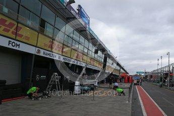 World © Octane Photographic Ltd. Formula 1 - Australian Grand Prix - Wednesday Setup. Pit Lane. Albert Park Circuit. Wednesday 22nd March 2017. Digital Ref: 1788LB2D3939