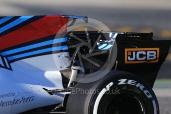 World © Octane Photographic Ltd. Formula 1 - Winter Test 2. Felipe Massa - Williams Martini Racing FW40. Circuit de Barcelona-Catalunya. Tuesday 7th March 2017. Digital Ref :1784CB1D0423