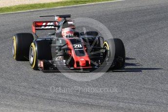 World © Octane Photographic Ltd. Formula 1 - Winter Test 2. Kevin Magnussen - Haas F1 Team VF-17. Circuit de Barcelona-Catalunya. Tuesday 7th March 2017. Digital Ref: 1784CB1D1064