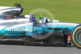 World © Octane Photographic Ltd. Formula 1 - Winter Test 2. Valtteri Bottas - Mercedes AMG Petronas F1 W08 EQ Energy+. Circuit de Barcelona-Catalunya. Tuesday 7th March 2017. Digital Ref: 1784CB1D1085