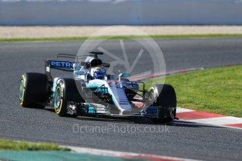 World © Octane Photographic Ltd. Formula 1 - Winter Test 2. Valtteri Bottas - Mercedes AMG Petronas F1 W08 EQ Energy+. Circuit de Barcelona-Catalunya. Tuesday 7th March 2017. Digital Ref: 1784CB1D1244