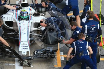 World © Octane Photographic Ltd. Formula 1 - Winter Test 2. Felipe Massa - Williams Martini Racing FW40. Circuit de Barcelona-Catalunya. Tuesday 7th March 2017. Digital Ref :1784CB1D1397