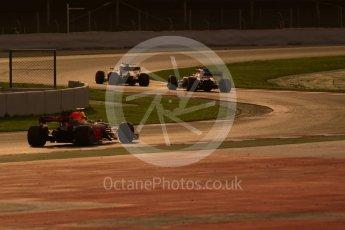 World © Octane Photographic Ltd. Formula 1 - Winter Test 2. Felipe Massa - Williams Martini Racing FW40, Stoffel Vandoorne - McLaren Honda MCL32 and Daniel Ricciardo - Red Bull Racing RB13. Circuit de Barcelona-Catalunya. Tuesday 7th March 2017. Digital Ref :1784CB1D1458