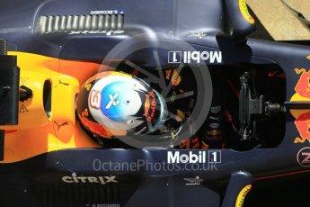 World © Octane Photographic Ltd. Formula 1 - Winter Test 2. Daniel Ricciardo - Red Bull Racing RB13. Circuit de Barcelona-Catalunya. Tuesday 7th March 2017. Digital Ref :1784CB1D4841
