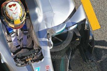 World © Octane Photographic Ltd. Formula 1 - Winter Test 2. Lewis Hamilton - Mercedes AMG Petronas F1 W08 EQ Energy+. Circuit de Barcelona-Catalunya. Tuesday 7th March 2017. Digital Ref :1784CB1D4984