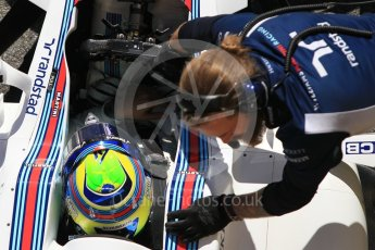 World © Octane Photographic Ltd. Formula 1 - Winter Test 2. Felipe Massa - Williams Martini Racing FW40. Circuit de Barcelona-Catalunya. Tuesday 7th March 2017. Digital Ref :1784CB1D5043