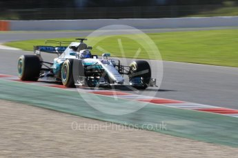 World © Octane Photographic Ltd. Formula 1 - Winter Test 2. Valtteri Bottas - Mercedes AMG Petronas F1 W08 EQ Energy+. Circuit de Barcelona-Catalunya. Tuesday 7th March 2017. Digital Ref: 1784CB1D5313