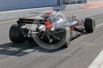 World © Octane Photographic Ltd. Formula 1 - Winter Test 2. Kevin Magnussen - Haas F1 Team VF-17. Circuit de Barcelona-Catalunya. Tuesday 7th March 2017. Digital Ref: 1784CB1D5351