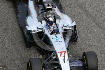 World © Octane Photographic Ltd. Formula 1 - Winter Test 2. Valtteri Bottas - Mercedes AMG Petronas F1 W08 EQ Energy+. Circuit de Barcelona-Catalunya. Tuesday 7th March 2017. Digital Ref :1784CB1D5385