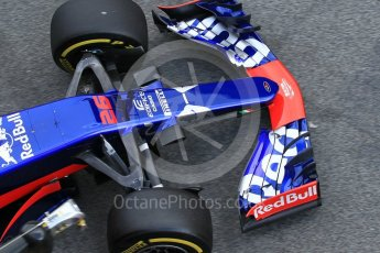 World © Octane Photographic Ltd. Formula 1 - Winter Test 2. Daniil Kvyat - Scuderia Toro Rosso STR12. Circuit de Barcelona-Catalunya. Tuesday 7th March 2017. Digital Ref :1784CB1D5398