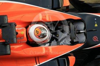 World © Octane Photographic Ltd. Formula 1 - Winter Test 2. Stoffel Vandoorne - McLaren Honda MCL32. Circuit de Barcelona-Catalunya. Tuesday 7th March 2017. Digital Ref :1784CB1D5435
