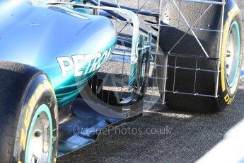 World © Octane Photographic Ltd. Formula 1 - Winter Test 2. Lewis Hamilton - Mercedes AMG Petronas F1 W08 EQ Energy+. Circuit de Barcelona-Catalunya. Tuesday 7th March 2017. Digital Ref :1784LB1D2462