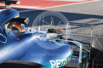 World © Octane Photographic Ltd. Formula 1 - Winter Test 2. Lewis Hamilton - Mercedes AMG Petronas F1 W08 EQ Energy+. Circuit de Barcelona-Catalunya. Tuesday 7th March 2017. Digital Ref :1784LB1D2466
