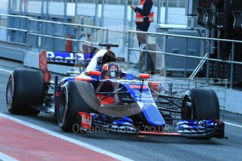 World © Octane Photographic Ltd. Formula 1 - Winter Test 2. Daniil Kvyat - Scuderia Toro Rosso STR12. Circuit de Barcelona-Catalunya. Tuesday 7th March 2017. Digital Ref :1784LB1D2499