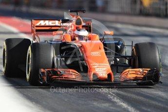 World © Octane Photographic Ltd. Formula 1 - Winter Test 2. Stoffel Vandoorne - McLaren Honda MCL32. Circuit de Barcelona-Catalunya. Tuesday 7th March 2017. Digital Ref :1784LB1D2688