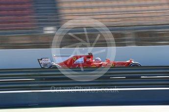 World © Octane Photographic Ltd. Formula 1 - Winter Test 2. Sebastian Vettel - Scuderia Ferrari SF70H. Circuit de Barcelona-Catalunya. Tuesday 7th March 2017. Digital Ref :1784LB1D2883