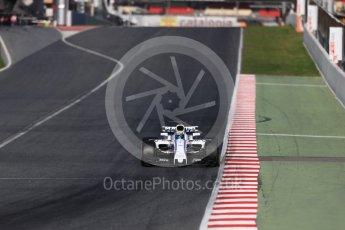 World © Octane Photographic Ltd. Formula 1 - Winter Test 2. Felipe Massa - Williams Martini Racing FW40. Circuit de Barcelona-Catalunya. Tuesday 7th March 2017. Digital Ref: 1784LB1D3412