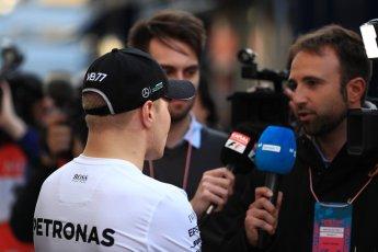 World © Octane Photographic Ltd. Formula 1 - Winter Test 2. Valtteri Bottas - Mercedes AMG Petronas F1. Circuit de Barcelona-Catalunya. Tuesday 7th March 2017. Digital Ref: 1784LB1D3736