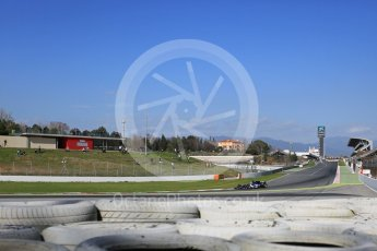 World © Octane Photographic Ltd. Formula 1 - Winter Test 2. Marcus Ericsson – Sauber F1 Team C36. Circuit de Barcelona-Catalunya. Tuesday 7th March 2017. Digital Ref: 1784LB5D9519