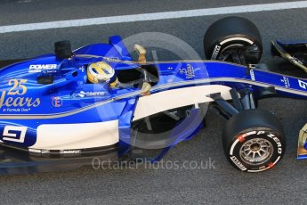 World © Octane Photographic Ltd. Formula 1 - Winter Test 1. Marcus Ericsson – Sauber F1 Team C36. Circuit de Barcelona-Catalunya. Wednesday 1st March 2017. Digital Ref : 1782CB1D4315