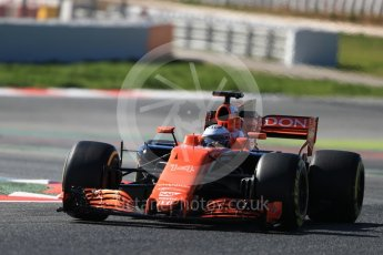 World © Octane Photographic Ltd. Formula 1 - Winter Test 1. Fernando Alonso - McLaren Honda MCL32. Circuit de Barcelona-Catalunya. Wednesday 1st March 2017. Digital Ref :1782LB1D0438