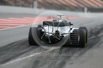 World © Octane Photographic Ltd. Formula 1 - Winter Test 1. Valtteri Bottas - Mercedes AMG Petronas F1 W08 EQ Energy+. Circuit de Barcelona-Catalunya. Wednesday 1st March 2017. Digital Ref : 1782LB1D9597