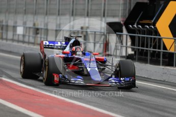 World © Octane Photographic Ltd. Formula 1 - Winter Test 1. Daniil Kvyat - Scuderia Toro Rosso STR12. Circuit de Barcelona-Catalunya. Wednesday 1st March 2017. Digital Ref : 1782LB1D9842