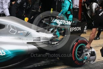 World © Octane Photographic Ltd. Formula 1 - Winter Test 1. Valtteri Bottas - Mercedes AMG Petronas F1 W08 EQ Energy+. Circuit de Barcelona-Catalunya. Wednesday 1st March 2017. Digital Ref : 1782LB5D8570
