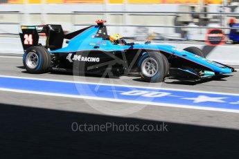 World © Octane Photographic Ltd. GP3 - Practice. Arjun Maini – Jenzer Motorsport. Circuit de Barcelona - Catalunya, Spain. Friday 12th May 2017. Digital Ref:1814CB1L8579