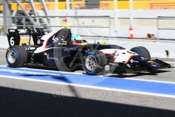 World © Octane Photographic Ltd. GP3 - Practice. Leonardo Pulcini - Arden International. Circuit de Barcelona - Catalunya, Spain. Friday 12th May 2017. Digital Ref:1814CB1L8625