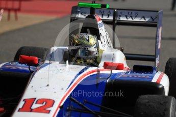 World © Octane Photographic Ltd. GP3 - Race 2. Dorian Boccolacci – Trident. Circuit de Barcelona - Catalunya, Spain. Sunday 14th May 2017. Digital Ref:1821LB1D2925