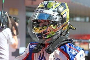 World © Octane Photographic Ltd. GP3 - Race 2. Dorian Boccolacci – Trident. Circuit de Barcelona - Catalunya, Spain. Sunday 14th May 2017. Digital Ref:1821LB1D2953