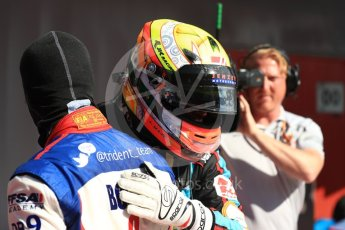 World © Octane Photographic Ltd. GP3 - Race 2. Arjun Maini – Jenzer Motorsport. Circuit de Barcelona - Catalunya, Spain. Sunday 14th May 2017. Digital Ref:1821LB1D3014