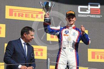 World © Octane Photographic Ltd. GP3 - Race 2. Dorian Boccolacci (2nd) – Trident. Circuit de Barcelona - Catalunya, Spain. Sunday 14th May 2017. Digital Ref:1821LB1D3145