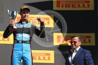 World © Octane Photographic Ltd. GP3 - Race 2. Arjun Maini (1st) – Jenzer Motorsport. Circuit de Barcelona - Catalunya, Spain. Sunday 14th May 2017. Digital Ref:1821LB1D3152
