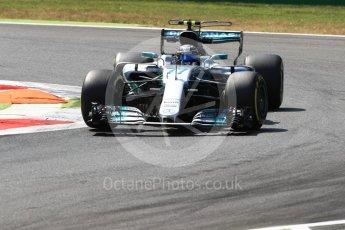 World © Octane Photographic Ltd. Formula 1 - Italian Grand Prix - Practice 2. Valtteri Bottas - Mercedes AMG Petronas F1 W08 EQ Energy+. Monza, Italy. Friday 1st September 2017. Digital Ref: 1939LB1D2394