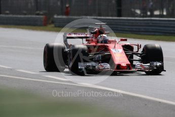 World © Octane Photographic Ltd. Formula 1 - Italian Grand Prix - Practice 2. Sebastian Vettel - Scuderia Ferrari SF70H. Monza, Italy. Friday 1st September 2017. Digital Ref: 1939LB1D2756