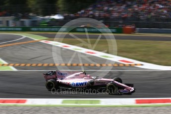 World © Octane Photographic Ltd. Formula 1 - Italian Grand Prix - Practice 2. Esteban Ocon - Sahara Force India VJM10. Monza, Italy. Friday 1st September 2017. Digital Ref: 1939LB2D8160