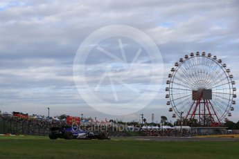 World © Octane Photographic Ltd. Formula 1 - Japanese Grand Prix - Saturday - Qualifying. Pascal Wehrlein – Sauber F1 Team C36. Suzuka Circuit, Suzuka, Japan. Saturday 7th October 2017. Digital Ref:1977LB2D4534
