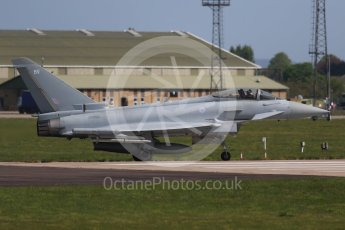 World © Octane Photographic Ltd. 4th May 2017 – RAF Coningsby, Lincolnshire, UK. Eurofighter Typhoon. Digital Ref :
