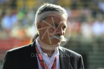 World © Octane Photographic Ltd. Formula 1 - Singapore Grand Prix - Paddock. Chase Carey - Chief Executive Officer of the Formula One Group. Marina Bay Street Circuit, Singapore. Sunday 17th September 2017. Digital Ref: