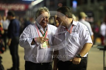 World © Octane Photographic Ltd. Formula 1 - Singapore Grand Prix - Paddock. Zak Brown - Executive Director of McLaren Technology Group. Marina Bay Street Circuit, Singapore. Sunday 17th September 2017. Digital Ref: