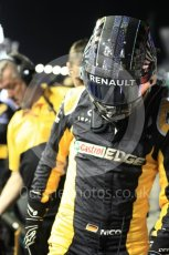 World © Octane Photographic Ltd. Formula 1 - Singapore Grand Prix - Paddock. Nico Hulkenberg - Renault Sport F1 Team R.S.17. Marina Bay Street Circuit, Singapore. Sunday 17th September 2017. Digital Ref: