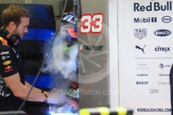 World © Octane Photographic Ltd. Formula 1 - Singapore Grand Prix - Practice 3. Max Verstappen - Red Bull Racing RB13. Marina Bay Street Circuit, Singapore. Saturday 16th September 2017. Digital Ref:1962LB1D1095