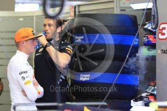 World © Octane Photographic Ltd. Formula 1 - Singapore Grand Prix - Practice 3. Max Verstappen - Red Bull Racing RB13. Marina Bay Street Circuit, Singapore. Saturday 16th September 2017. Digital Ref:1962LB1D1113