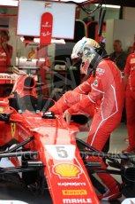 World © Octane Photographic Ltd. Formula 1 - Singapore Grand Prix - Practice 3. Sebastian Vettel - Scuderia Ferrari SF70H. Marina Bay Street Circuit, Singapore. Saturday 16th September 2017. Digital Ref:1962LB1D1229